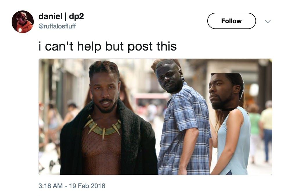 Black Panther Meme