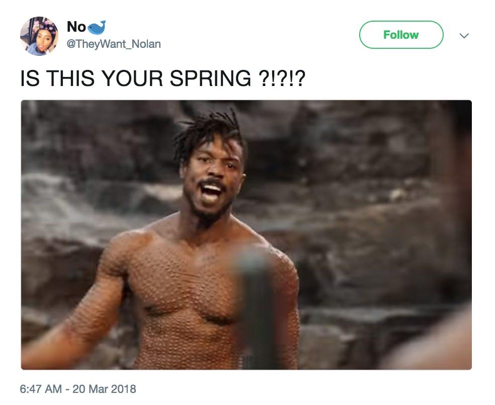 Erik Killmonger Is This Your King Meme