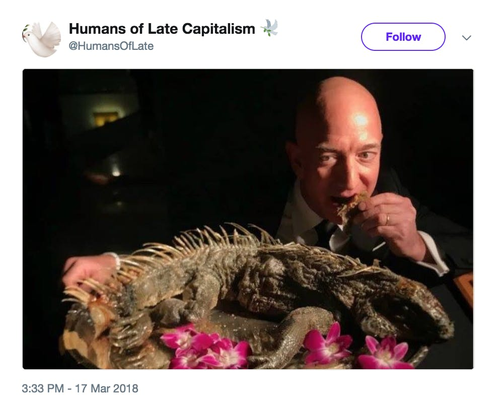 Humans of Late Capitalism Twitter account