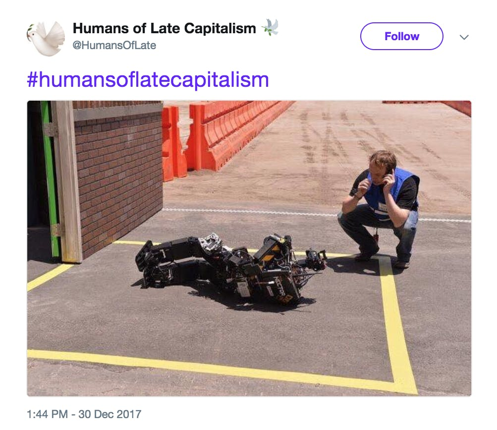 Humans of Late Capitalism Robot