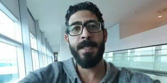 Hassan al-Kontar has been stuck in Malaysia for two months. He is originally from Syria.