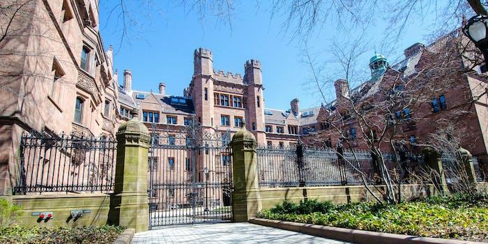 A doctoral student believes Yale University discriminates against men.