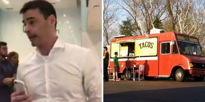 Aaron Schlossberg New York lawyer racist rant taco truck