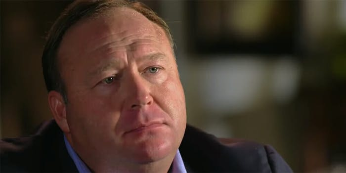 Alex Jones says he spoke to QAnon and that the anonymous account has been 'compromised.'