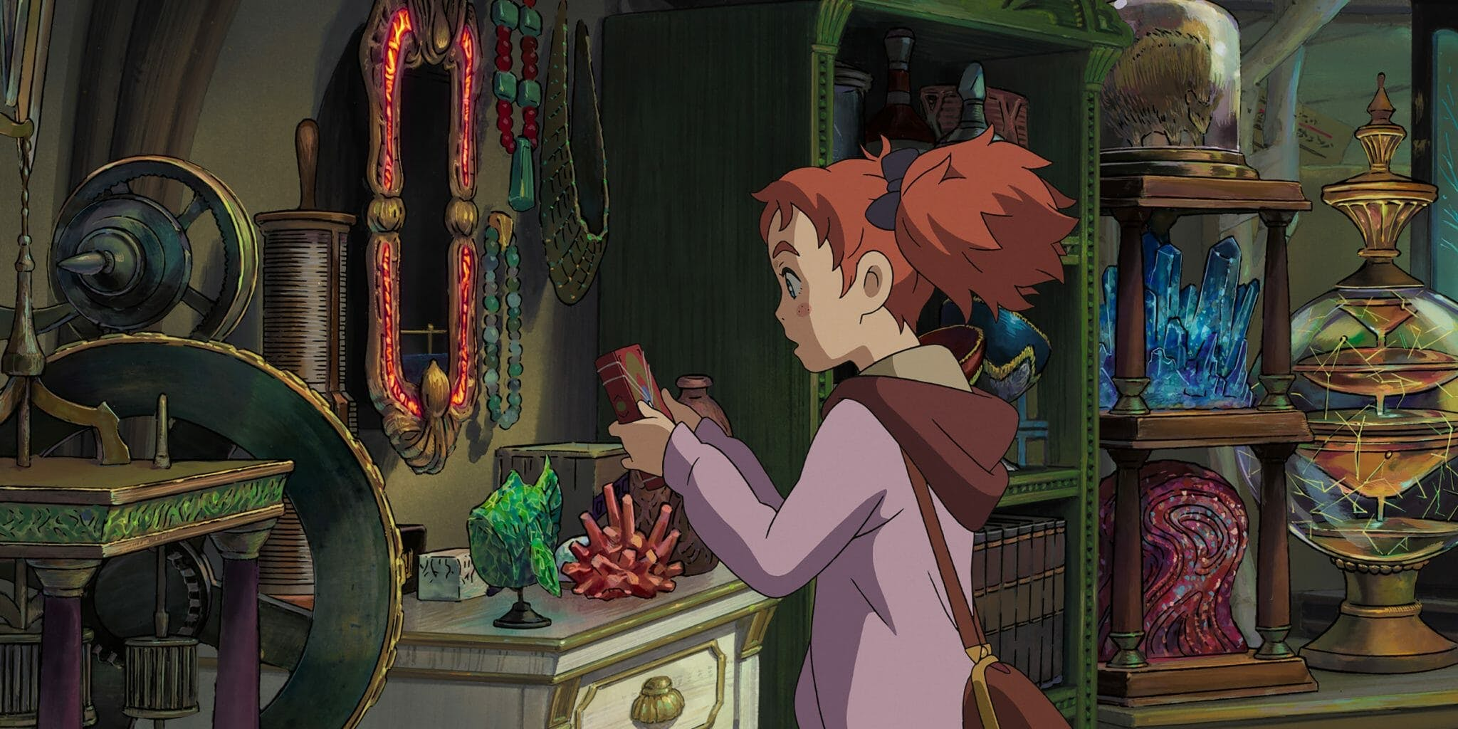 anime movies on netflix - mary and the witch's flower