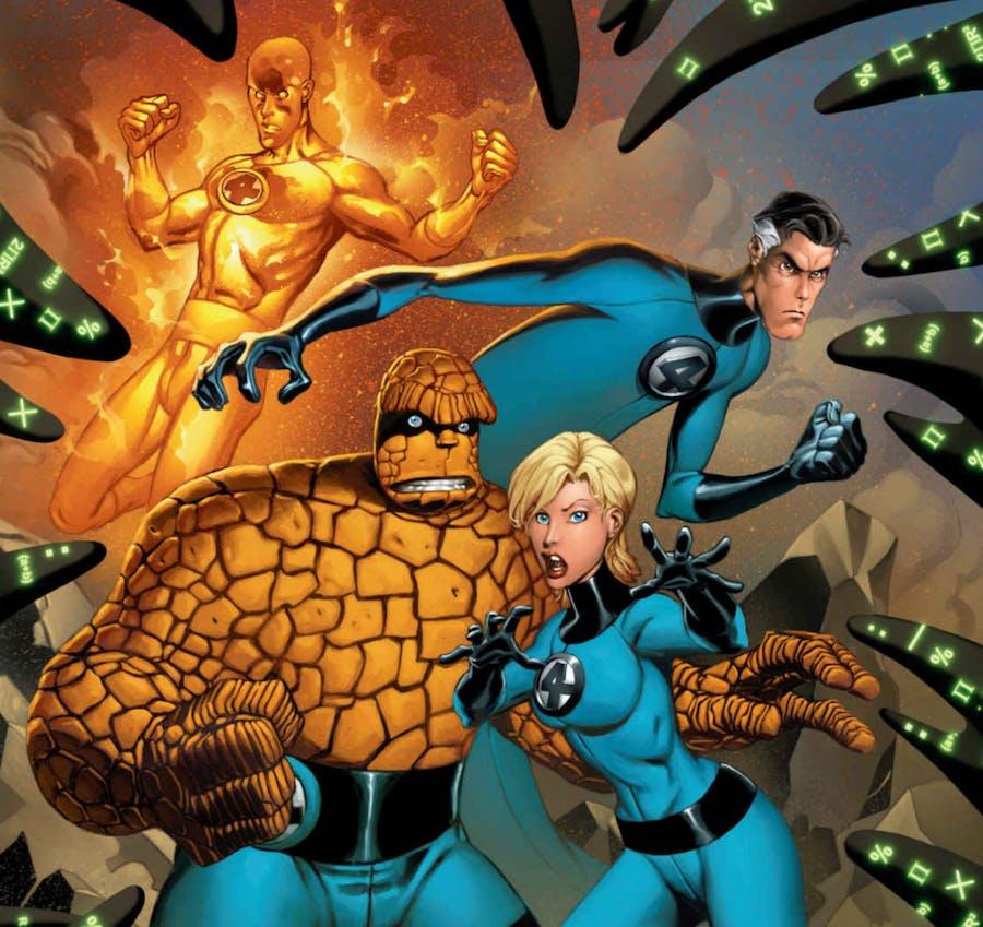 superheroes for kids : Fantastic Four