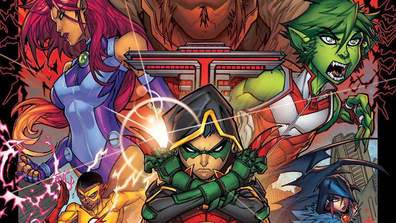 superheroes for kids : Teen Titans
