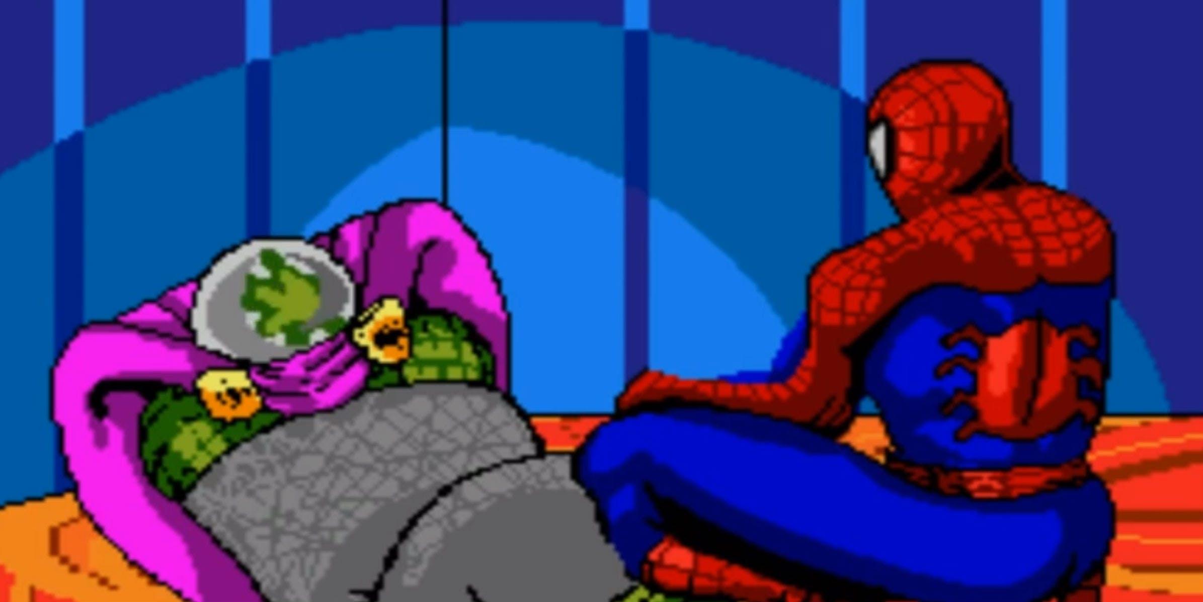 spiderman video games