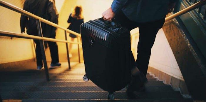 bluesmart smart luggage suitcase carry-on