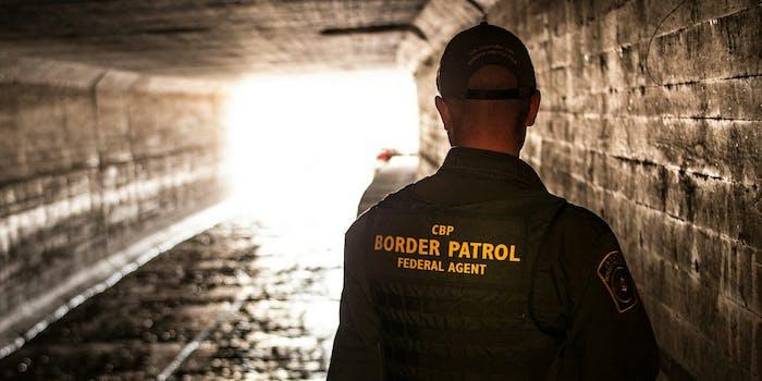 A U.S. Customs and Border Patrol agent.