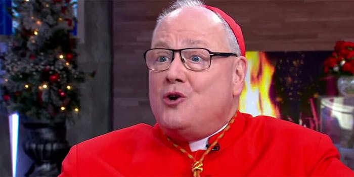 Cardinal Timothy Dolan said he wasn't offended by the Catholic-inspired Met Gala theme.