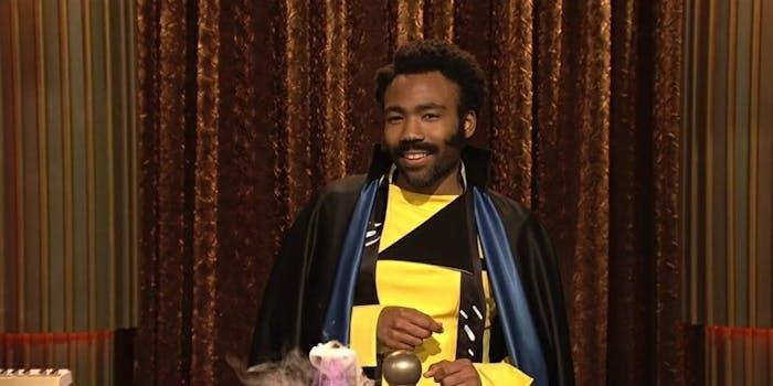 Donald Glover Lando Calrissian SNL