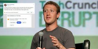 facebook hate speech bug mark zuckerberg