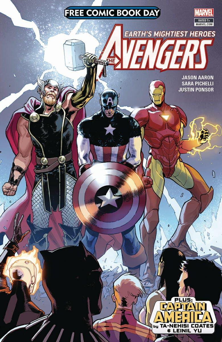 free avengers comic