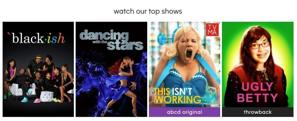 free tv apps - ABC app