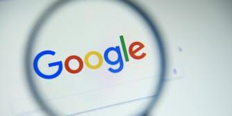 google chrome search website