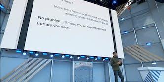 google duplex ai phone call i/o