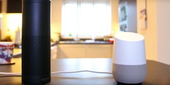 google home amazon echo