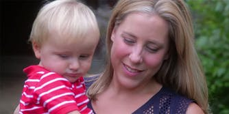 Liuba Grechen Shirley is the first female congressional candidate to use campaign funds for child care.