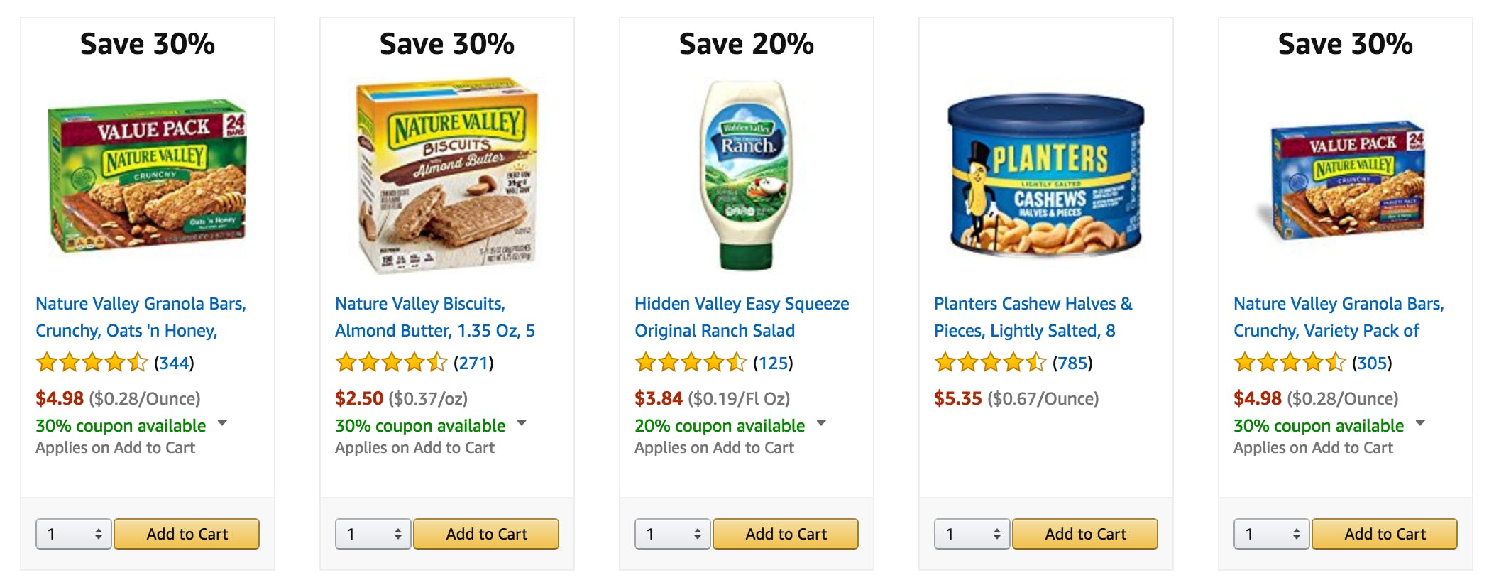 amazon prime pantry : digital coupons