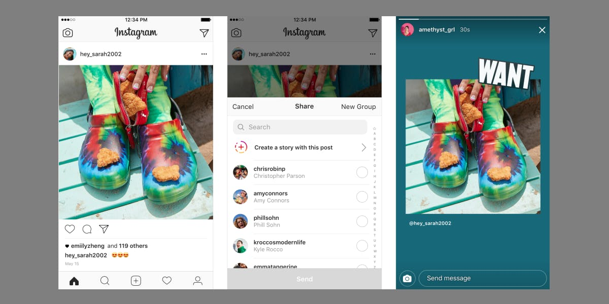 Instagram Post Stickers for Stories