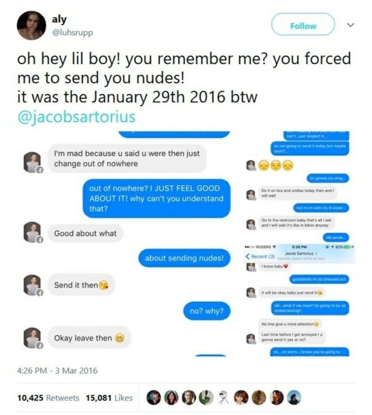 Jacob Sartorius girlfriend