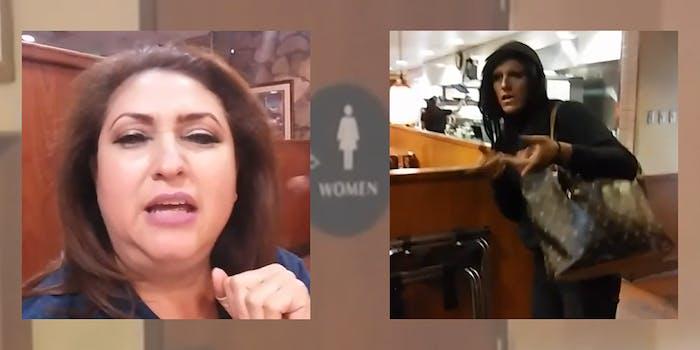 jazmina saavedra harasses trans woman in dennys rest room