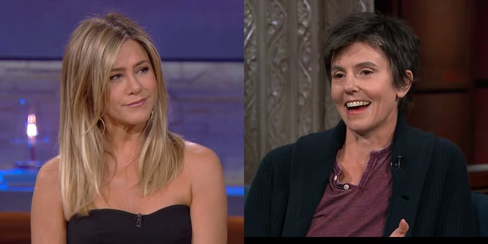 Jennifer Aniston and Tig Notaro will co-star in the Netflix political comedy 'First Ladies.'