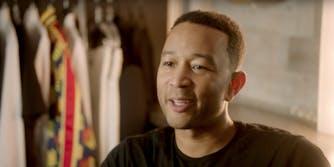 John Legend behind the scenes video