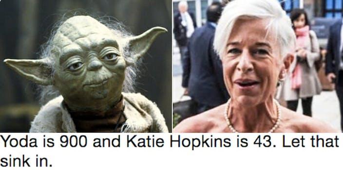 katie hopkins meme