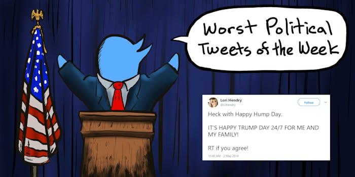 Lori Hendry Worst Political Tweets of the Week