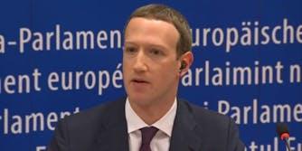 mark zuckerberg facebook eu testimony