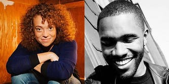 Michelle Wolf and Frank Ocean