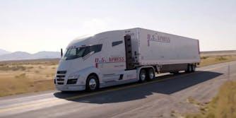 nikola motor company one hydrogen truck