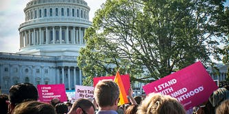 The Trump administration is expected to pull federal funding from groups that provide abortions or refer to abortion for family planning, including Planned Parenthood.