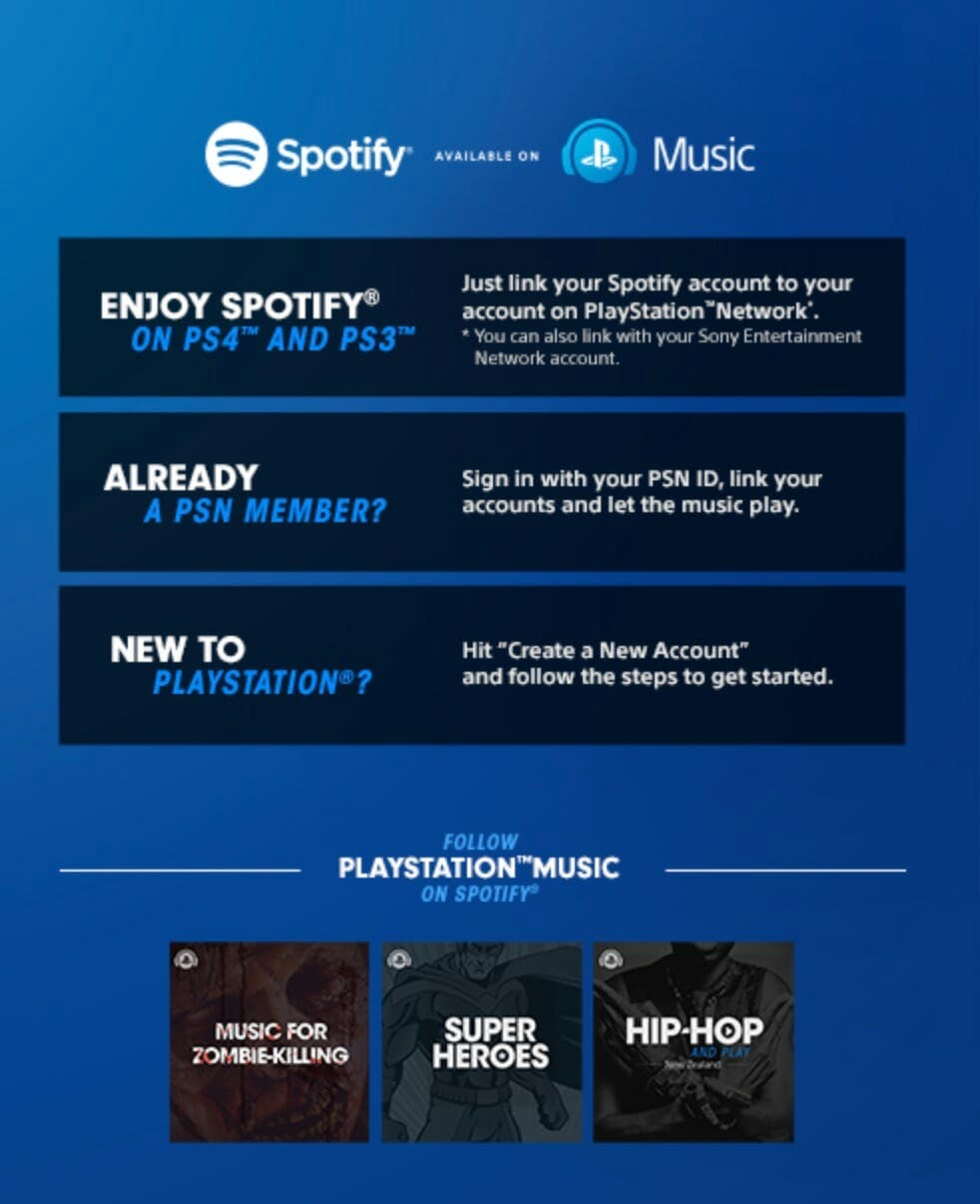 playstation plus spotify deal