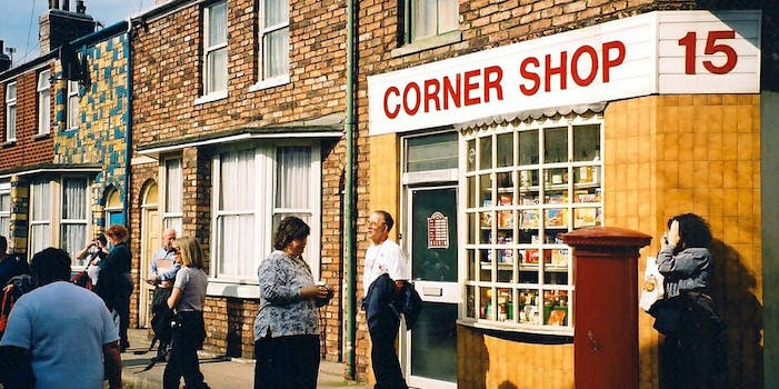 corner store in Manchester