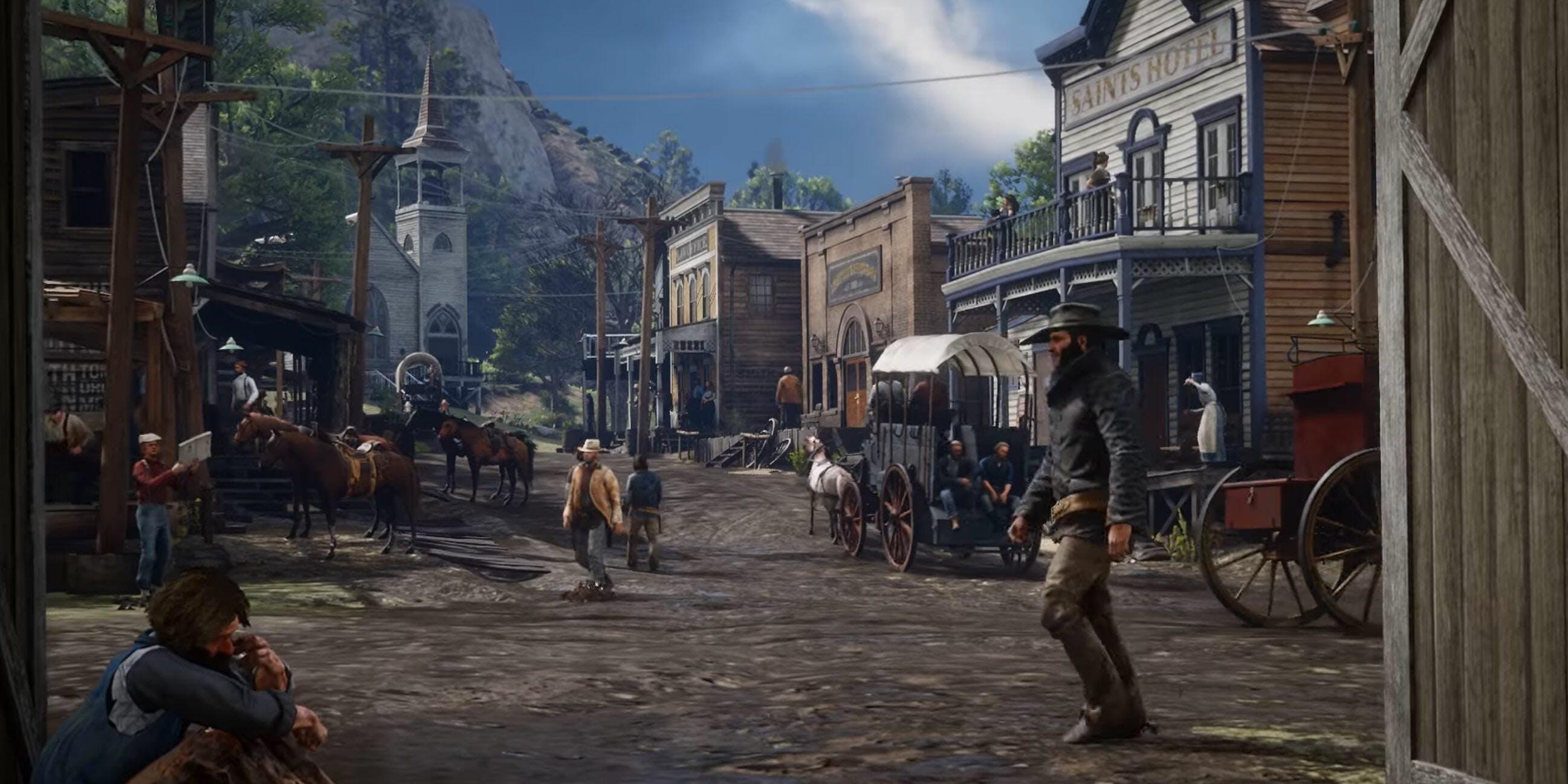 Red Dead Redemption 2 saints