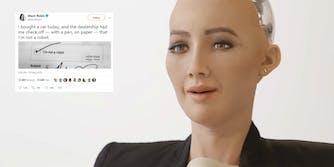 car dealership captcha robot