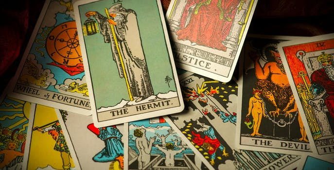 tarot cards facebook online