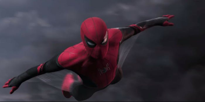 spider-man far from home trailer