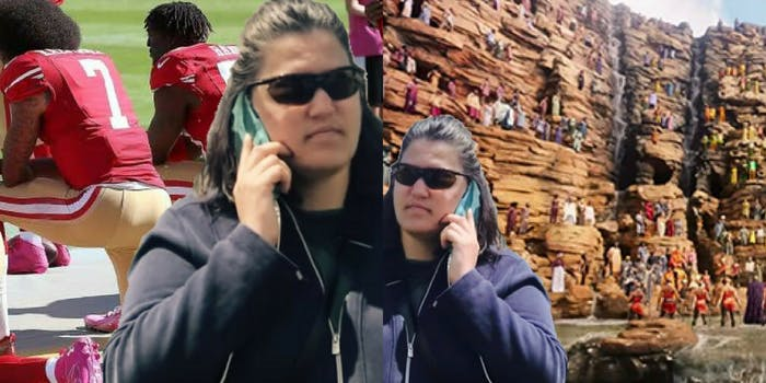 A white woman calling the cops has turned into a meme for all aspects of Black life, from kneeling at football games to the fight for the king of Wakanda.