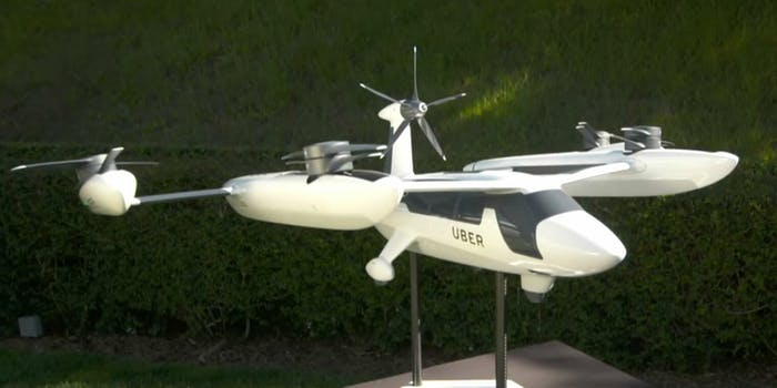 SEO title Uber Reveals Prototype for Flying Taxis—Take a Look