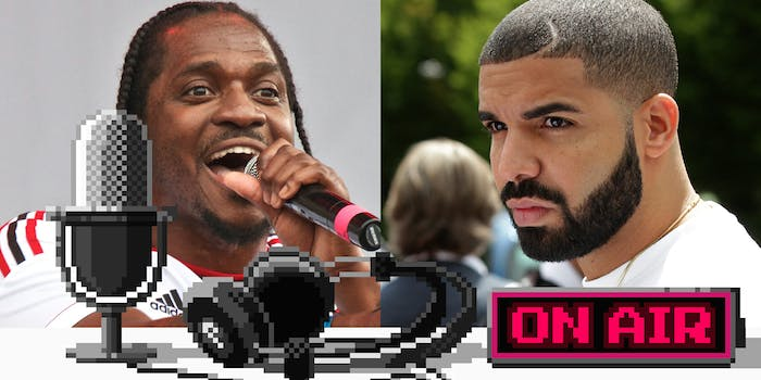 Upstream podcast discusses Drake and Pusha T