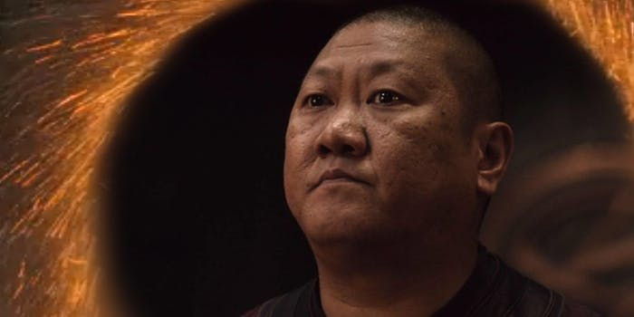 Wong's Exit in 'Avengers: Infinity War' Is Now a Hilarious Meme