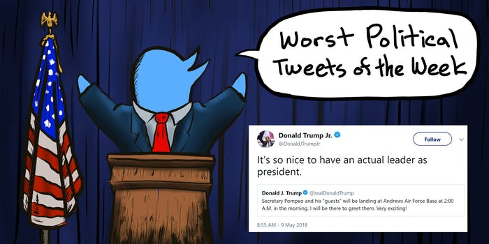 Worst Politics Tweets of the Week - Donald Trump Jr