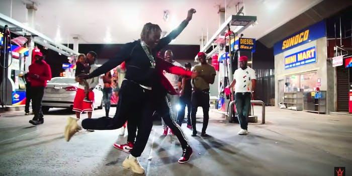 6ix9ine tati dance