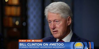Former President Bill Clinton addressed the #MeToo movement on 'Today.'