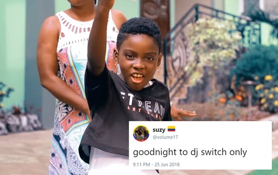 Erica Tandoh, a 10-year-old girl from Ghana who goes by the name DJ Switch, captured the hearts of Twitter users everywhere after BBC Africa tweeted a link to its profile of the young superstar.