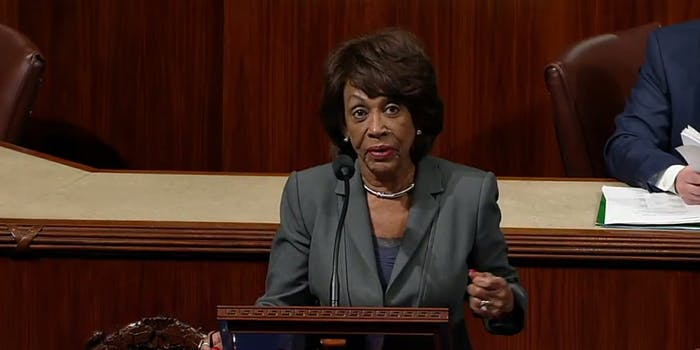 Rep. Maxine Waters says her office has received a number of death threats after comments she made earlier this week.